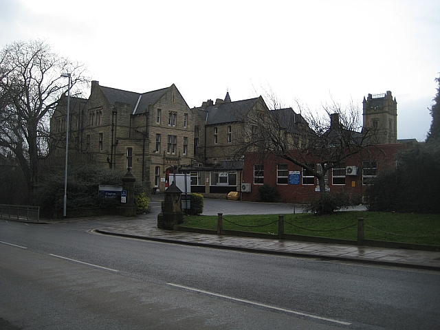 Clayton Hospital, Northgate entrance.