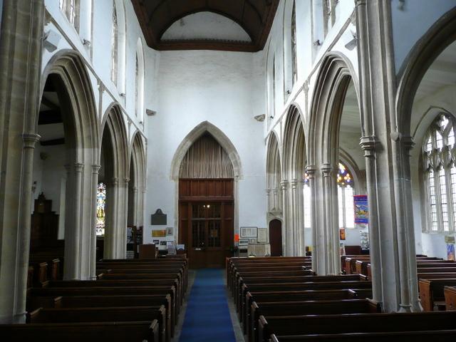 St. Cyriac's church, Lacock - interior
