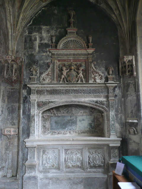 St. Cyriac's church, Lacock - memorial