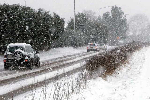 Difficult driving conditions
