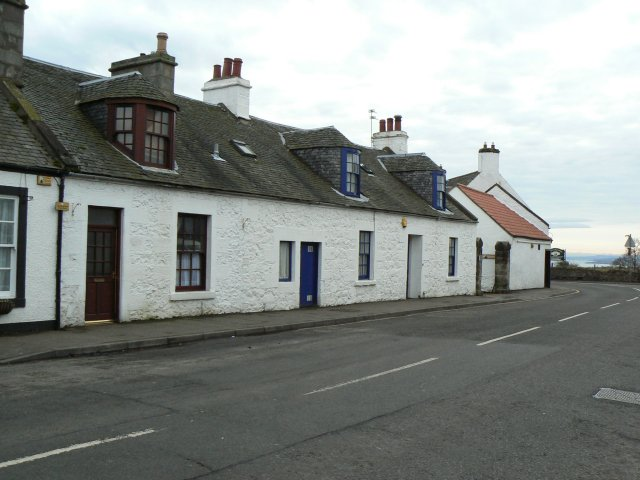 Cottages on the main street