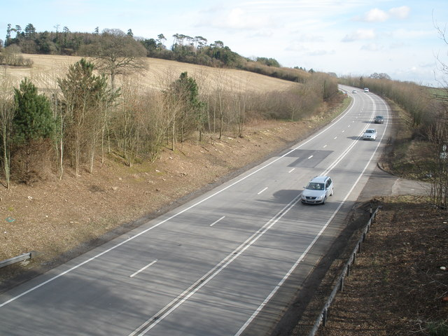 The A303, near Seavington St Mary