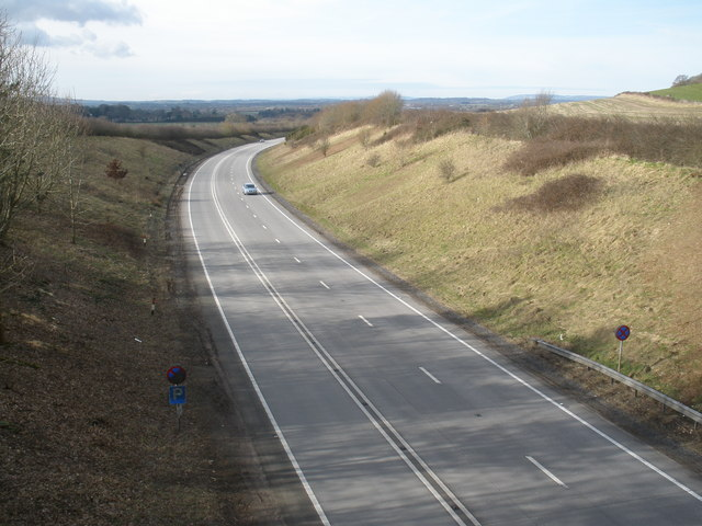 Cutting, on the A303