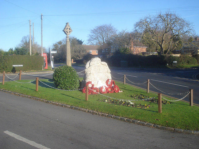 War memorial at Eckington
