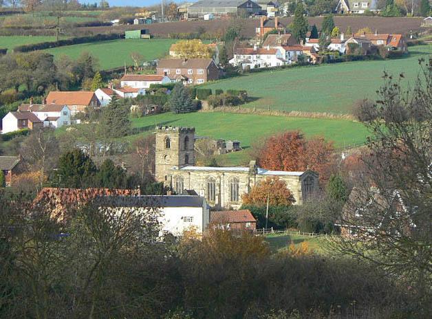 Lambley Church and Green Lane