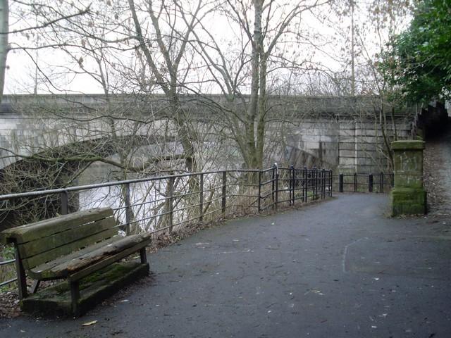 Clyde Walkway at Rutherglen Bridge