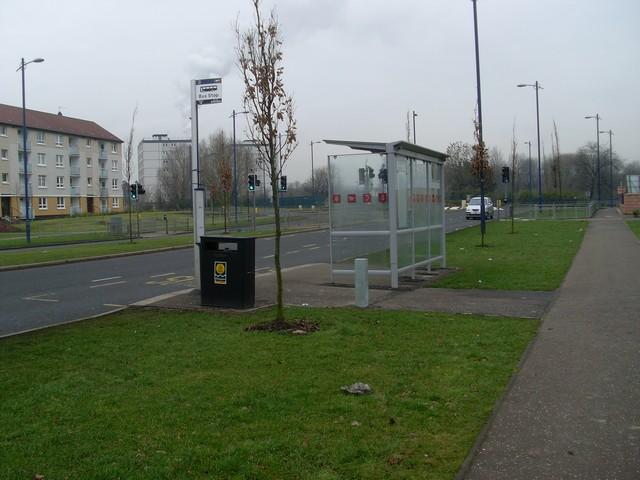 Bus stop, Caledonia Road