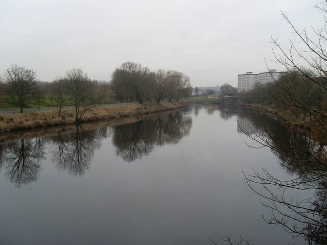 River Clyde from Ballater Street