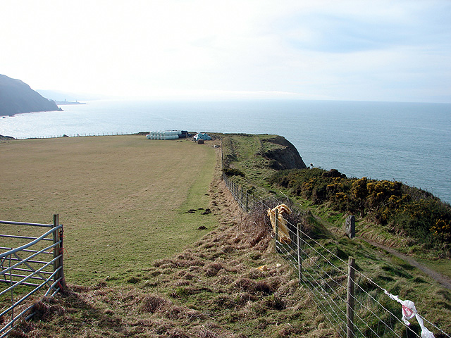 A view of the Ceredigion Coastal Path