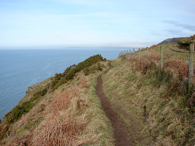 The Ceredigion Path south of Wallog