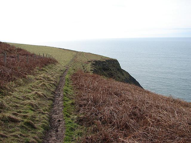 Path south of Wallog