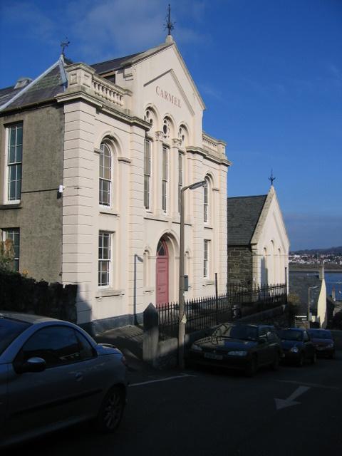 Capel Carmel Chapel in Chapel Street