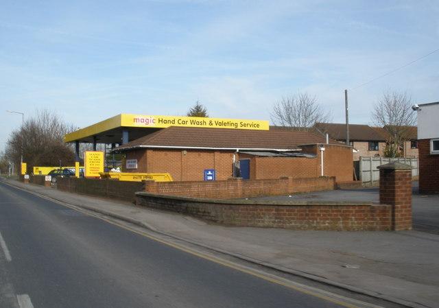 Magic Car Wash, Trowbridge Road, Westbury