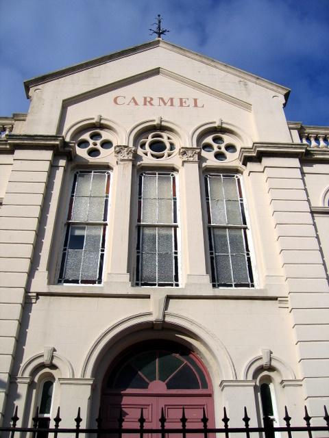Capel Carmel Chapel frontage