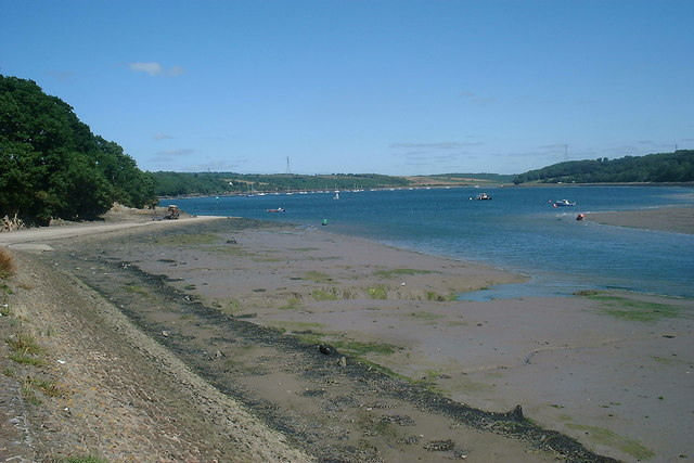 Looking towards the River Cleddau from the Water Sports centre
