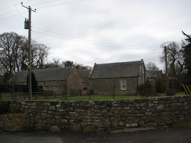 Farm cottage and other farm buildings