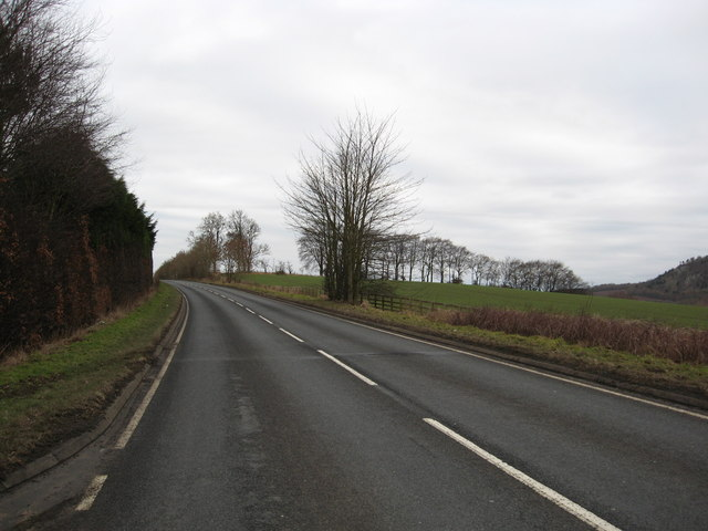 The A698 at Newton