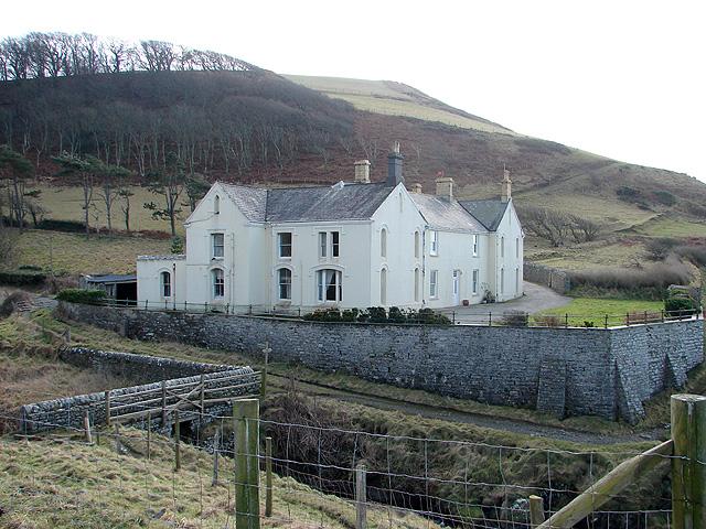 The house at Wallog