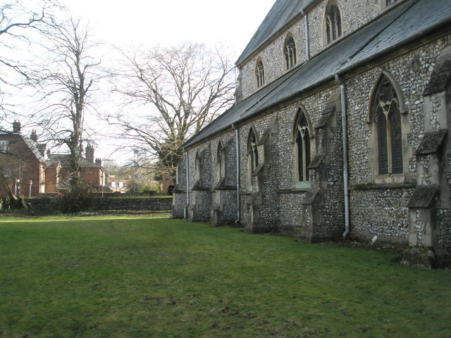 North side of Holy Trinity, Winchester
