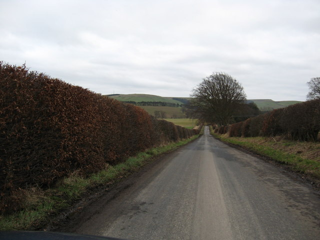 Country road to Bedrule