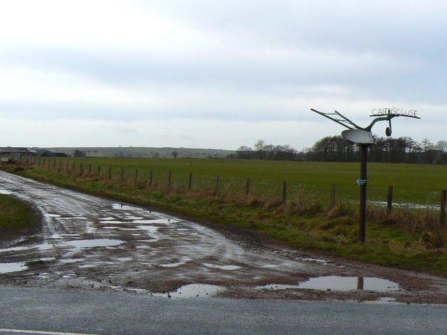 Plough up a pole