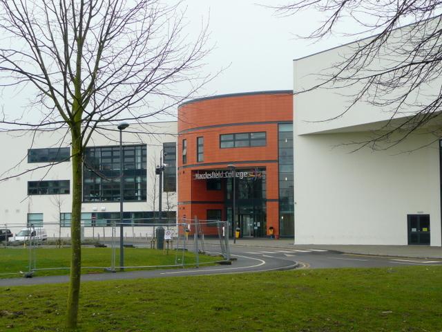 Macclesfield College - new building
