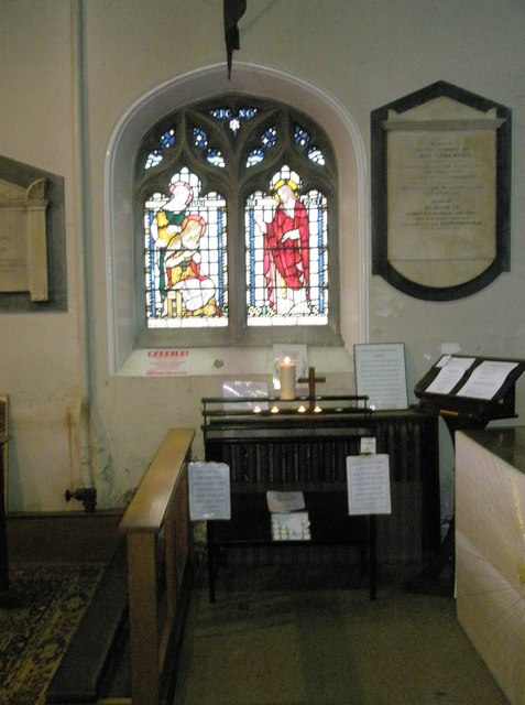 Devotional area within St John the Baptist, Windsor