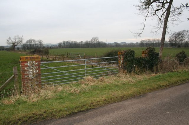 Fields past the gate