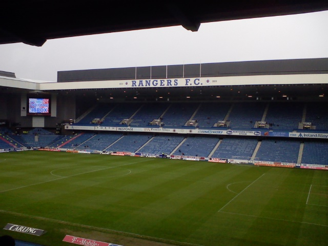 Inside Ibrox Stadium