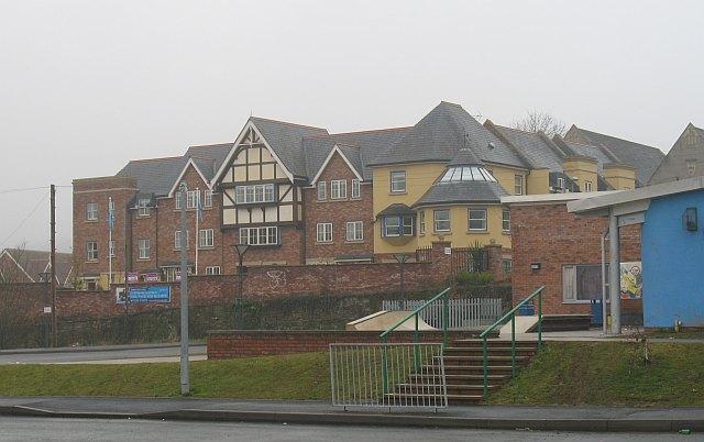 New flats, Galdeford