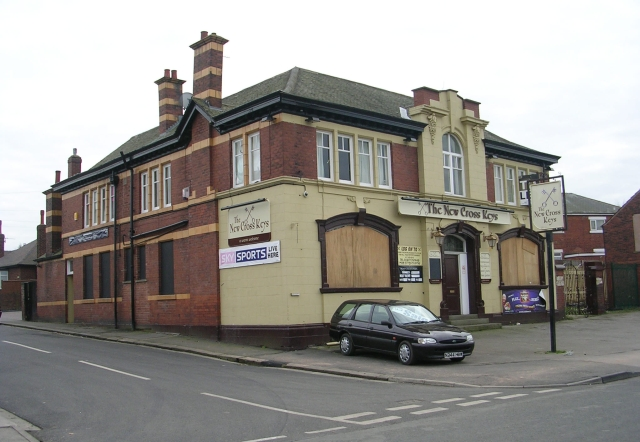 The New Cross Keys - Halfpenny Lane