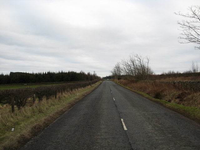 The road to Jedburgh
