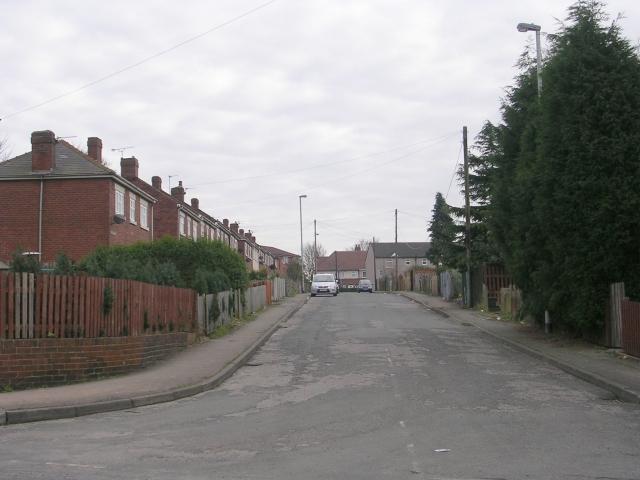 St Giles Avenue - Halfpenny Lane