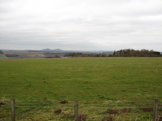 Grazing lands near Ruecastle Farm