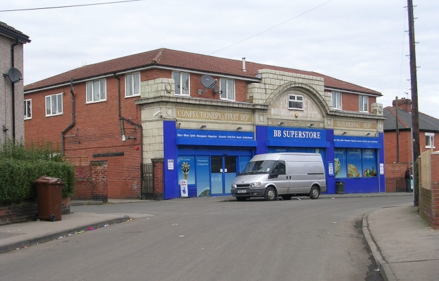 Former Pontefract Industrial & Co-operative Society Shop - Love Lane