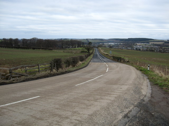 All down hill to Jedburgh