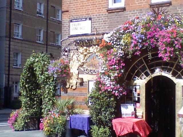 Restaurant in Drury Lane