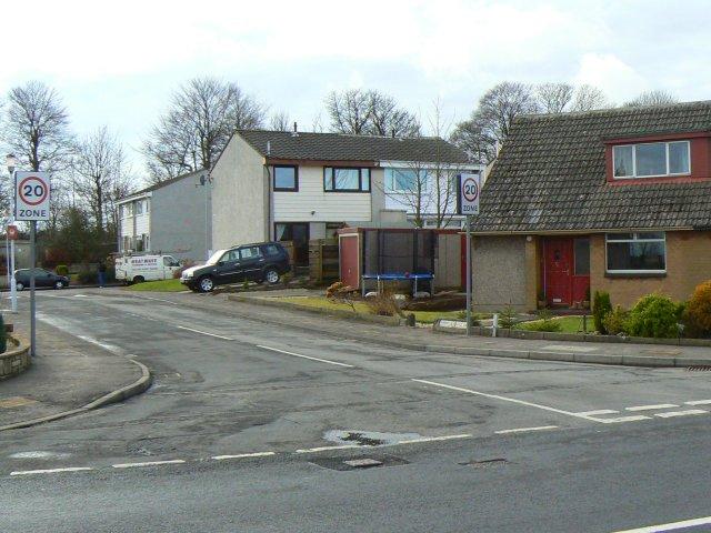 Quiet residential corner