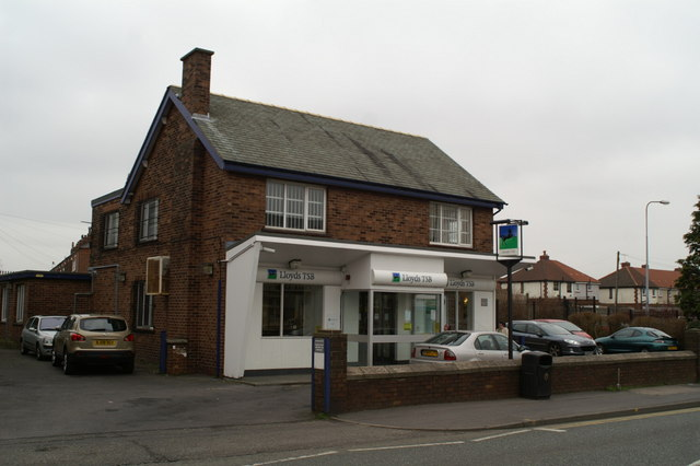 Drive-through bank on Ormskirk Road