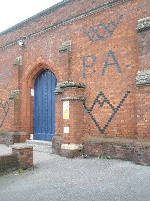 Connecting door from Datchet Road onto Windsor & Eton Riverside railway station