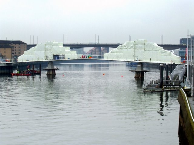 Bridge under wraps