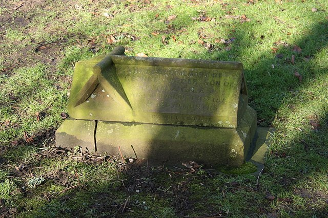 Little George's grave