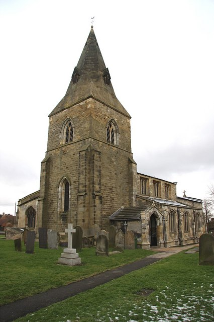 All Saints' Church spire