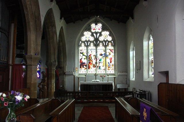 All Saints' chancel