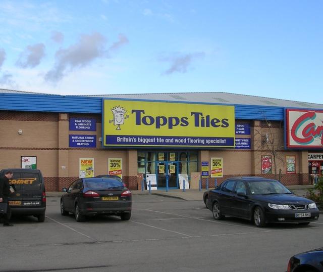Topp Tiles - Park Road Retail Park
