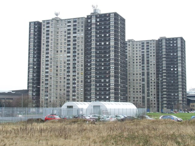 Gorbals tower blocks