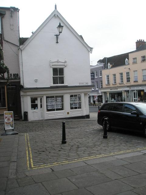 Bollards in Church Lane