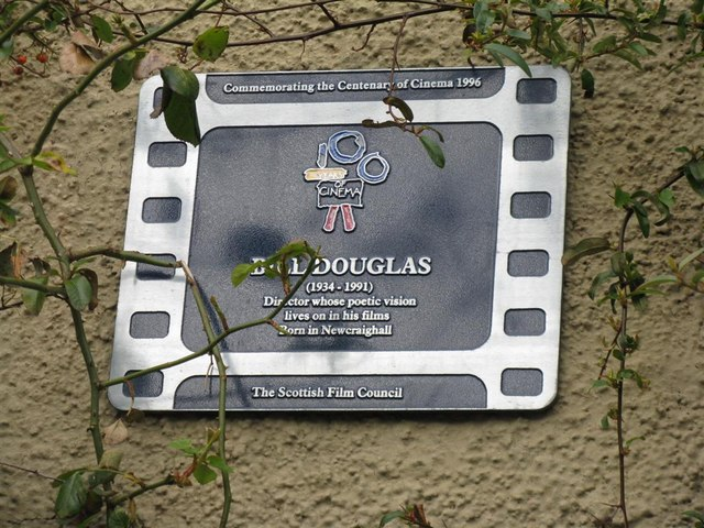 Plaque for Bill Douglas, Film Director