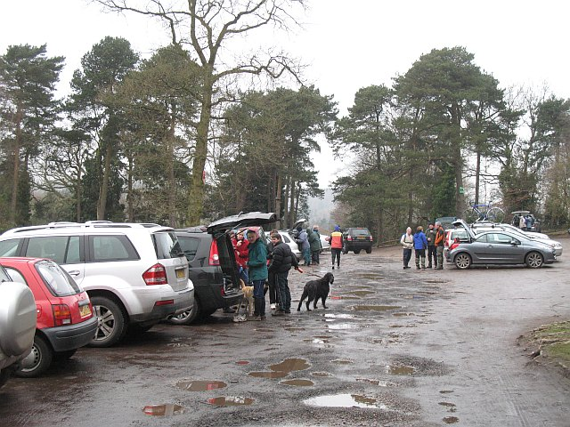 Car park, Lickey Hills