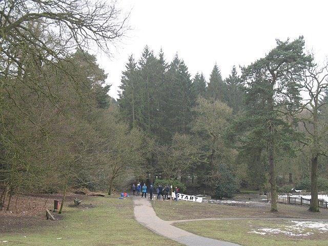 Below the visitor centre, Lickey Hills